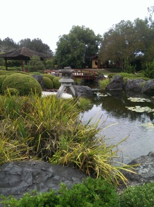 Tea House and gazebo at the Japanese gardens